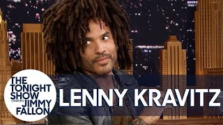 Lenny Kravitz Lets Jimmy Play Bob Dylan