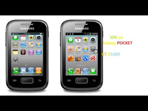 [GT-S5300]iOS rom for Samsung galaxy pocket GT S5300-- belt rom