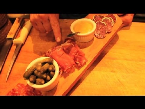 How to Make a Cured Meat Platter : Great Cheese Ideas
