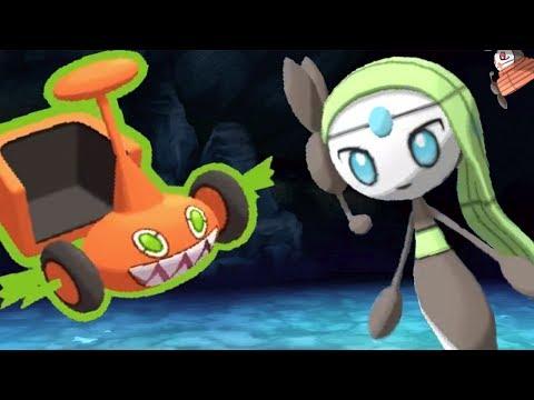 Meloetta Is Truly Deceitful - Pokemon SUN and MOON WiFi Battle #105: 6ftHax VS Sharpedo43 (1080p)
