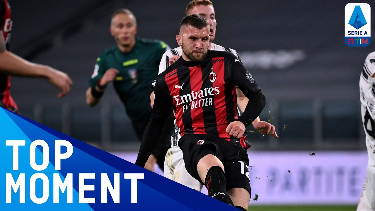Rebic curles in fine goal from outside the box! | Juventus 0-3 Milan | Top Moment | Serie A TIM