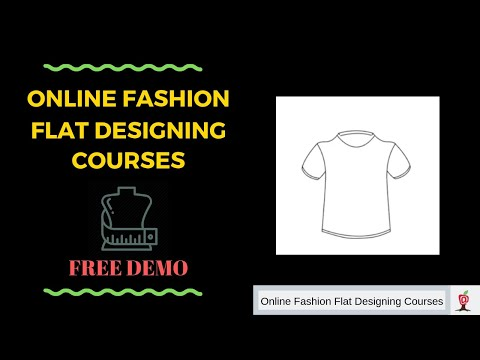 Online Fashion Designing Courses (CAD) - Free Demo Class - Learn How To Make A T-shirt - 07