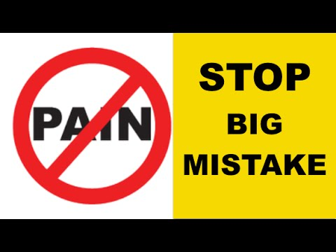 Lower Back Pain & Neck Pain (STOP DOING THIS!!)