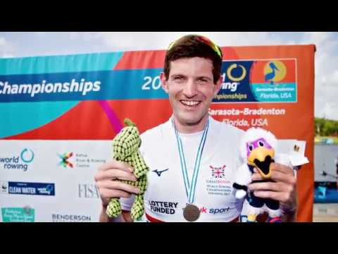 Tom Barras discusses his World Championships bronze medal