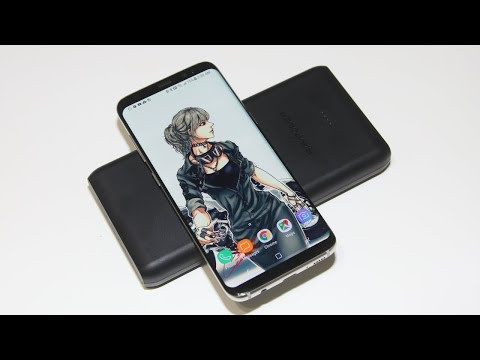 A True Wireless Charger without Cables for Samsung Galaxy S9 & Note 8