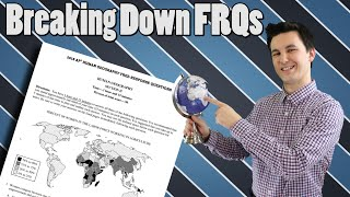 Breaking down the 2018 AP Human Geography FRQ