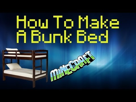 How to make bunk beds in Minecraft PE