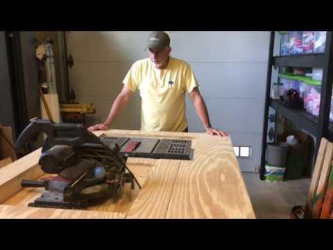 Flip Top Table Workbench