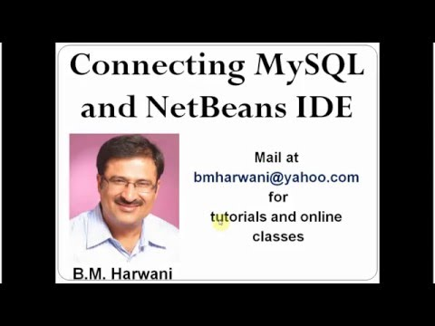 Connecting NetBeans With MySQL (In Hindi)