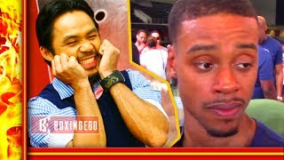 Download MANNY PACQUIAO WANTS NO SMOKE W/ ERROL SPENCE! LEAVE SPENCE NAME OFF POLL Video