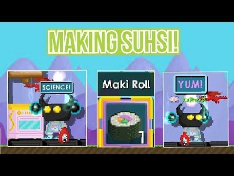 Growtopia | Making Sushi