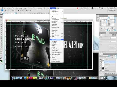 Create a DVD Menu in Photoshop and Adobe After Effects