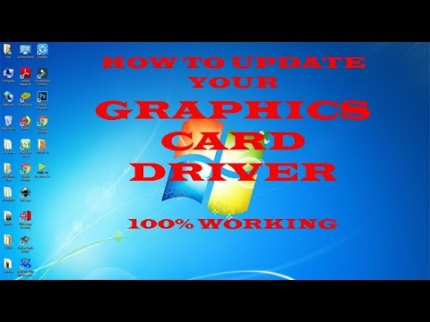 How to Update GRAPHICS CARD driver in WINDOWS 7