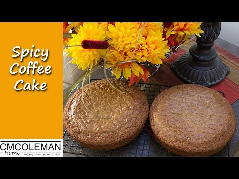 Easy Spicy Coffee Cake Recipe