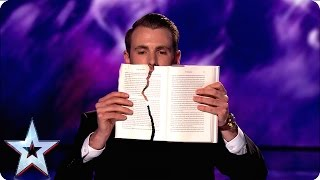 Richard Jones casts his spell over the Judges | Semi-Final 3 | Britain's Got Talent 2016