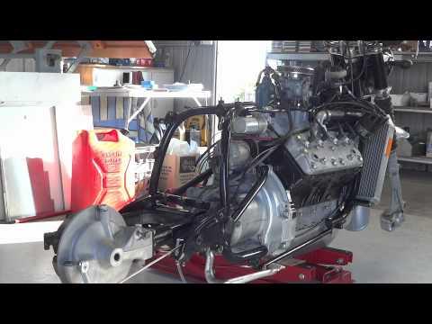 rat cafe V8 bike build