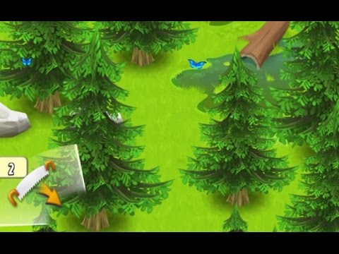 Hay Day · Let's Play #19 · Cutting Trees