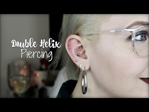 All About My DOUBLE HELIX Piercing
