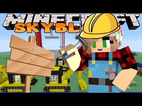 Minecraft Skyblock - Little Kelly - BUILDING MORE OF OUR HOUSE! #4