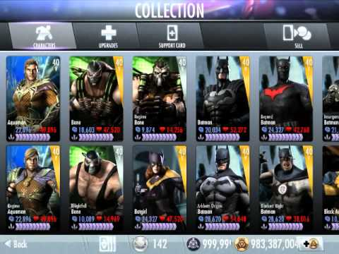 Injustice Gods Among Us - ALL Characters Unlocked FREE!!!