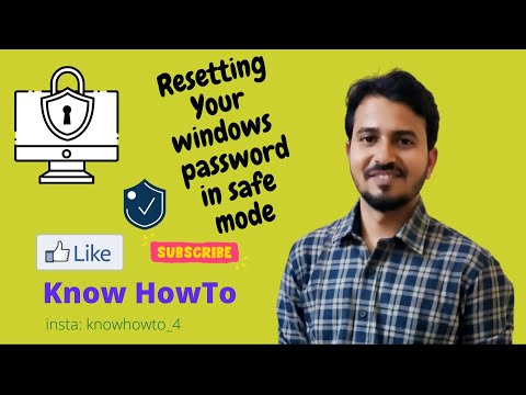 Resetting Your Windows Password in Safe Mode - Part 2