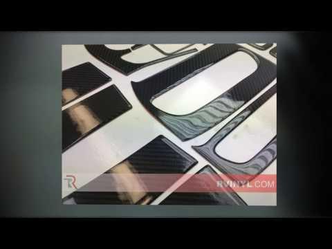 Black 4D Carbon Fiber — Benevento™ 2014 - 2016 Jeep Cherokee Dash Kits