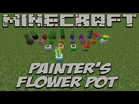 Ep194 - Painter's Flower Pot - Minecraft 1.4.7