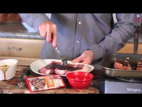 How to Make Tender, Marinated BBQ Pork Chops : Wonderful Dishes
