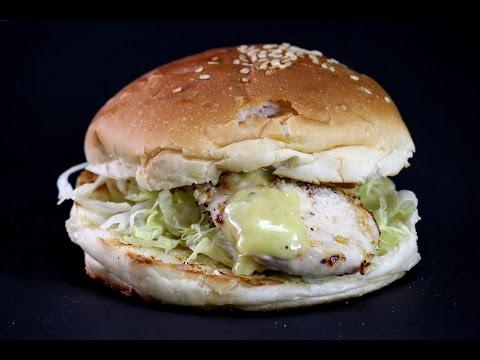 Chicken Caesar Burger | Sanjeev Kapoor Khazana