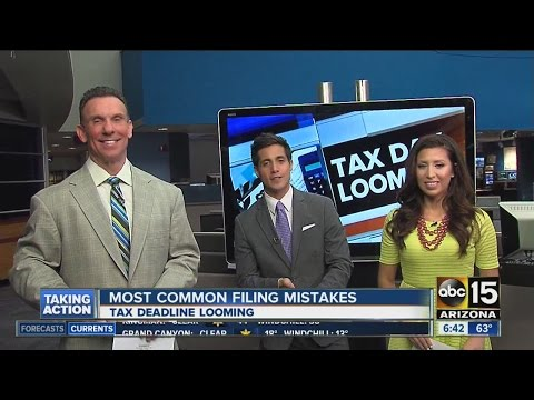Most common tax-filing mistakes