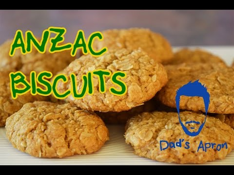 Anzac Biscuits - How To Make - Dad's Apron