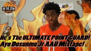 Illinois Commit Ayo Dosunmu is the ULTIMATE POINT GUARD! Jr. AAU Mixtape!