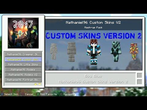 Custom Skins V2 For Minecraft PS3 Edition (No Jailbreak)