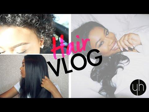 SHORT HAIR UPDATE & NATURAL LOOKING SEW-IN VLOG | Y-HAIR
