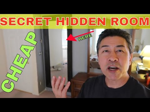 DIY Secret Room with a Mirror Door