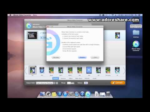 MOV to WMV on Mac: How to Convert MOV video to HD WMV simple