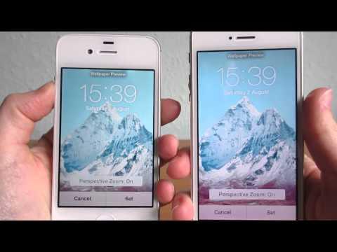 iPhone 4s vs iPhone 5 - Screen Colour Comparison