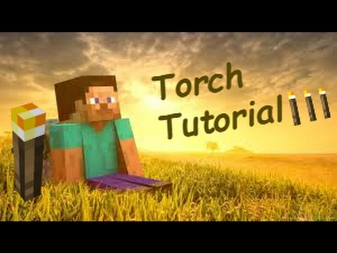 How To Make a Torch in Minecraft Pe HD !!! Easy