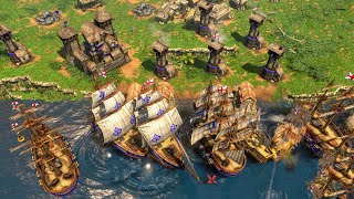 Age of Empires 3 Definitive Edition - BRITISH Gameplay (PC/UHD)