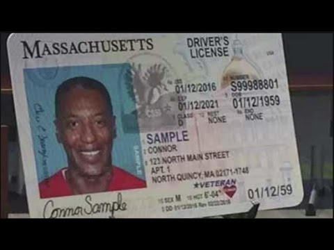 RMV revealing new design for Massachusetts driver's licenses