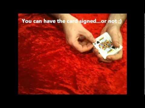 Misprinted Bicycle Card Magic Trick