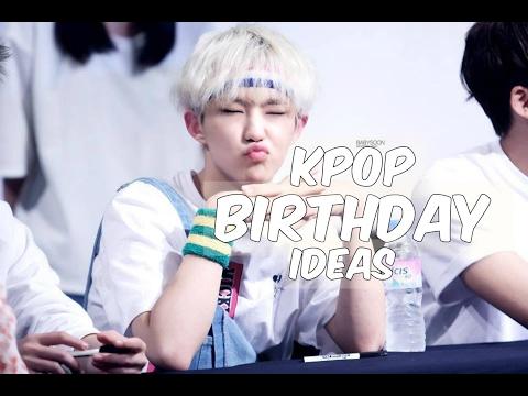 [DIY] Kpop Birthday Ideas (Kpop fansite themed) | HoshiMushiWoozi