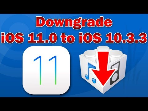 How to Downgrade iOS 11.0 to 10.3.3 on iPhone, iPod touch & iPad