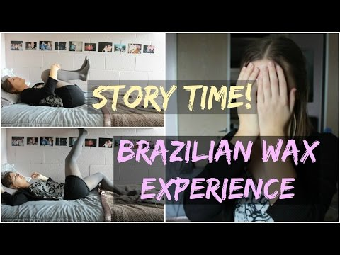 STORY TIME: First Time Getting a Brazilian Wax
