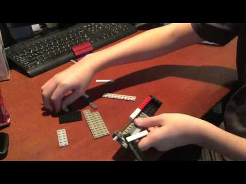 How to make a Lego switch blade knife