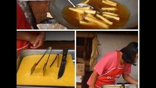 ถั่วเหลืองทอดอร่อยมาก เหมือนเฟรนฟรายเลยสูตรชาวไทยใหญ่ Soybean Frying French Fries
