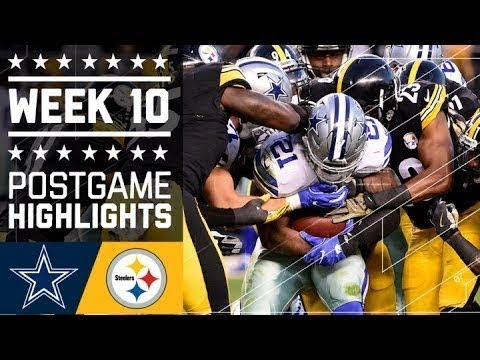#1 Cowboys vs. Steelers | NFL Week 10 Game Highlights