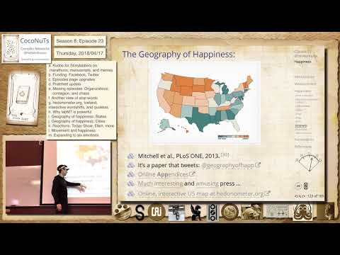 S8E23i: Geography of happiness: States