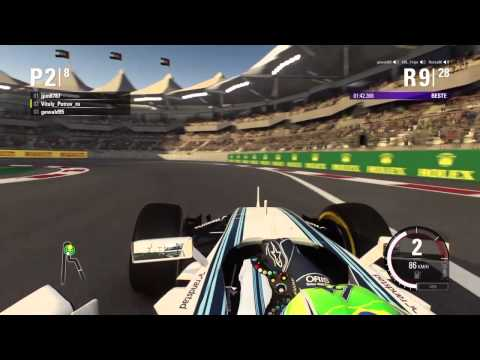 F1 2015 - NGF1-Unity: 1.Testrennen - Abu Dhabi (Part 1)
