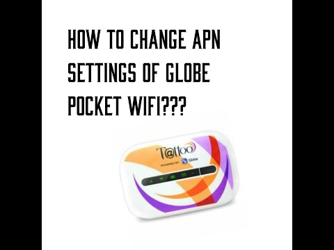HOW TO CHANGE APN SETTINGS OF GLOBE POCKET WIFI USING HUAWEI HILINK